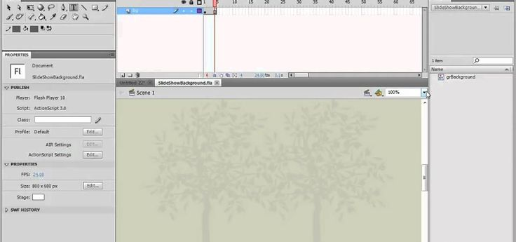 How to Create a simple slideshow in Adobe Flash Professional CS5