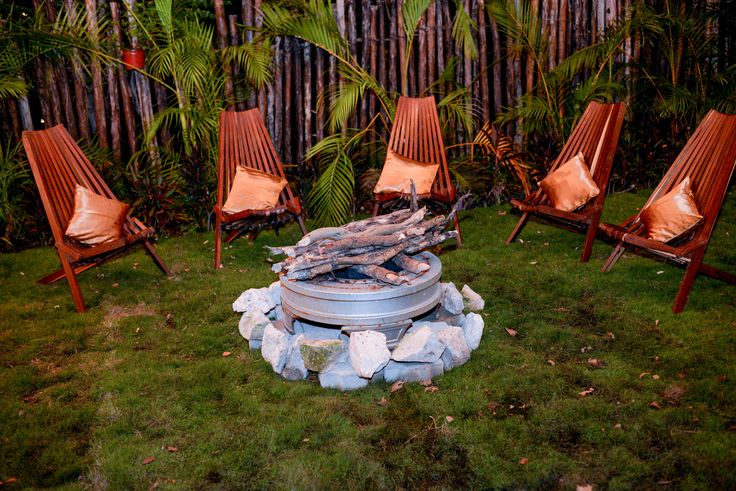 Talk with the wedding coordinator to see what little special things you can add to your reception- like a bonfire- here at Dreams Tulum Resort & Spa! #DreasmTulum #Bonfire #WeddingReception #DestinationWedding