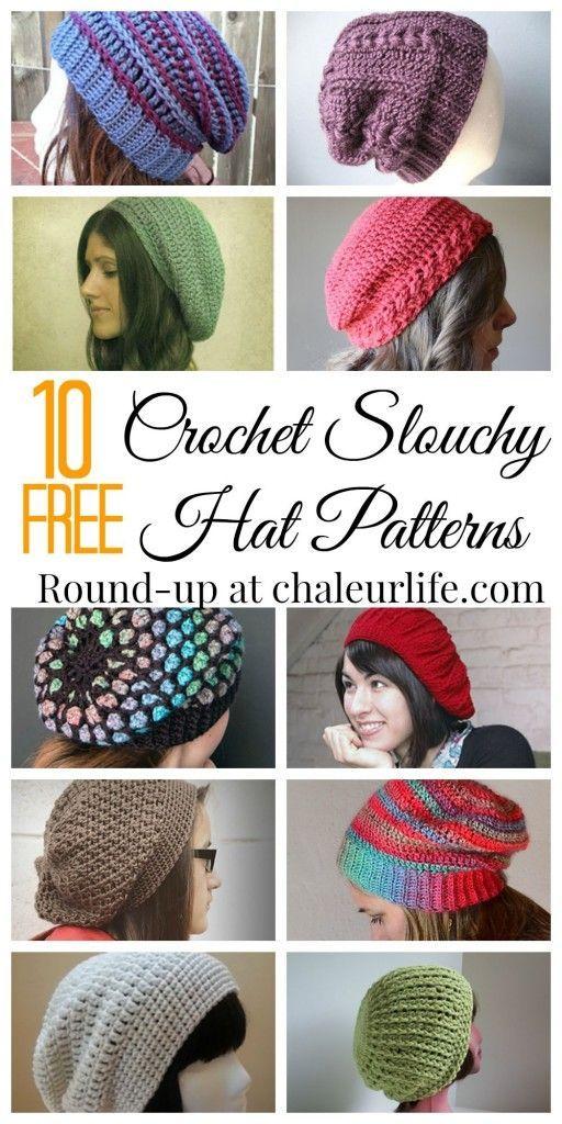 1070 best Crochet | Hats & Headbands images on Pinterest | Beanies ...