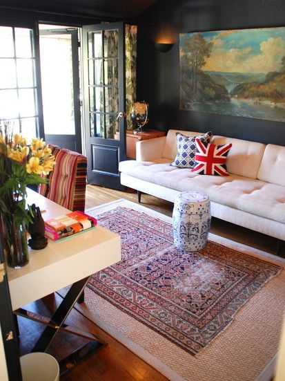 Home Office, Eclectic Home Office, Los Angeles
