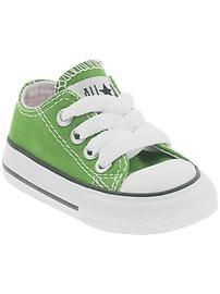 Mini green Converse :D