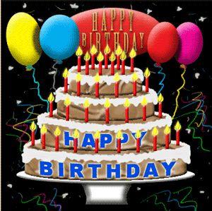 happy birthday cakes con tu nombre | AGRADECIMIENTO AL FORO DE POESÍAS MAR Y LUNA