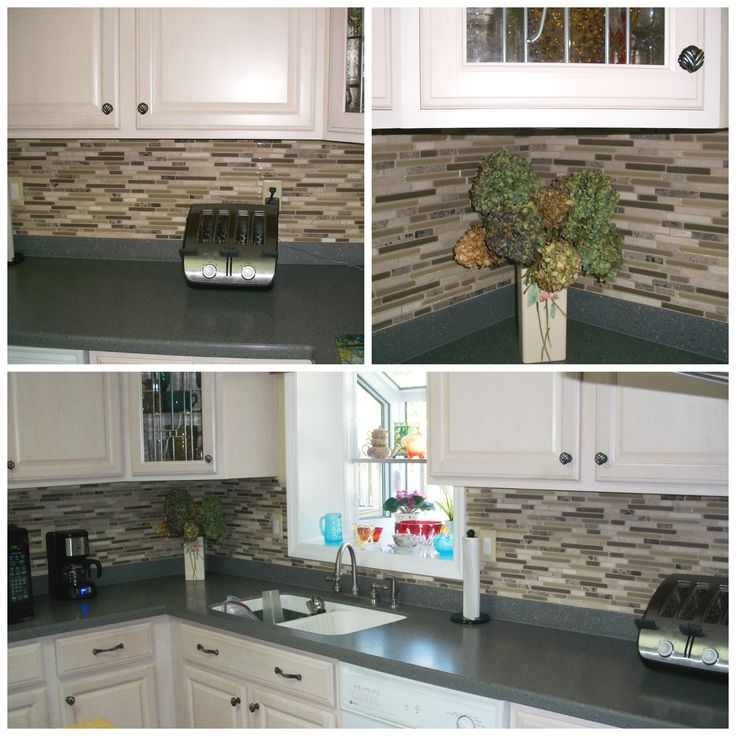 Backsplash Installed In One Of Our Clients Kitchens