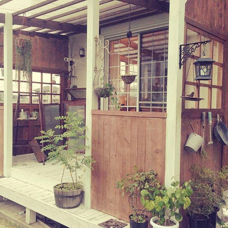 Garden*/ウッドデッキ/壁/天井のインテリア実例 - 2015-07-17 12:20:52 | RoomClip(ルームクリップ)