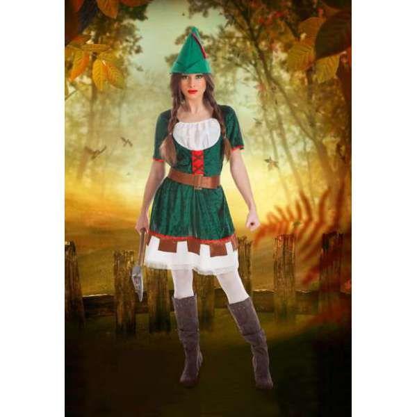 DisfracesMimo, disfraz de robin para mujer talla m/l.Éste traje es muy pero que muy Sexy y podría servir también como disfraz de Peter Pan sexy de chica.Este disfraz es ideal para tus fiestas temáticas de disfraces cuentos populares,famosos y musicos para mujer adultos.