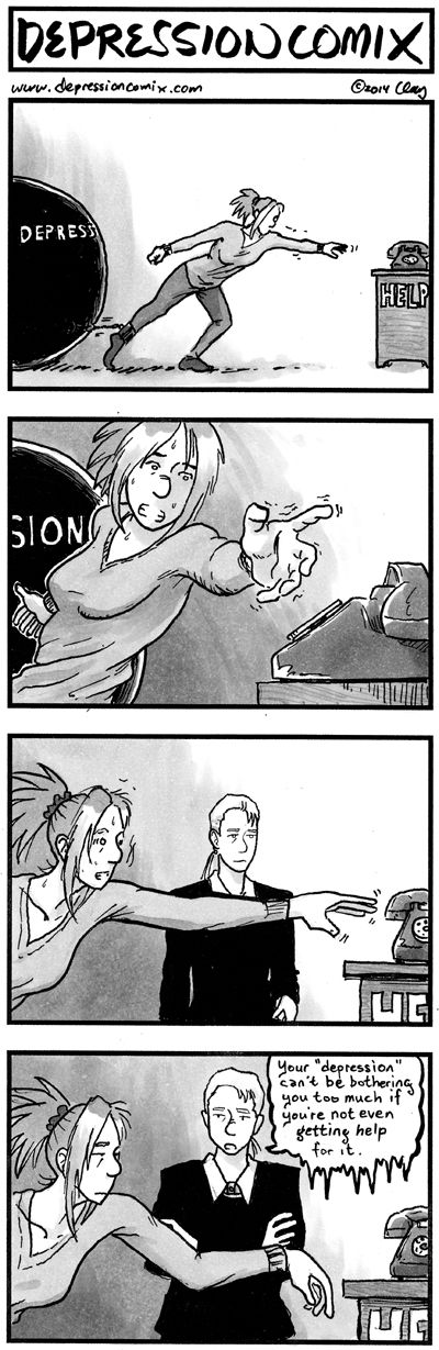 from the archive:depression comix #183 - main - Patreon