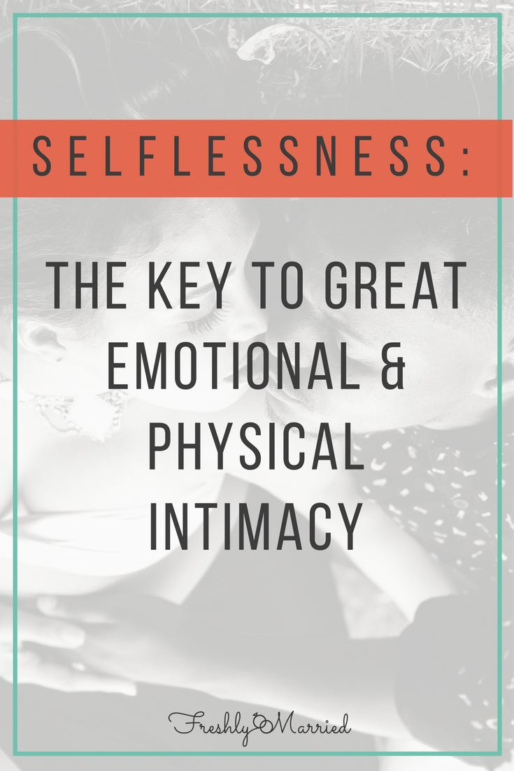 The Key to Great Emotional + Physical Intimacy!