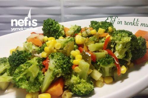 Zeytinyağlı Brokoli Salatası Tarifi