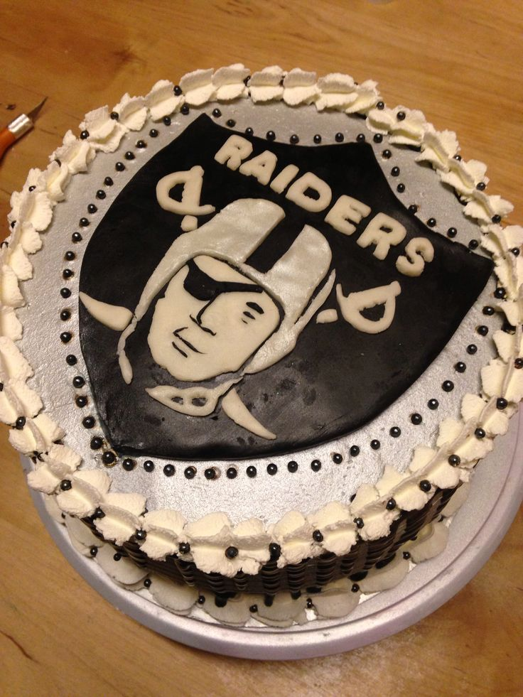 Raiders Cake Decor : 37 Best images about Francisco on Pinterest Oakland ...