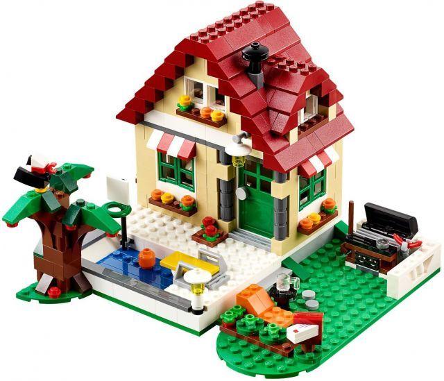 Đồ chơi LEGO 31038 Changing Seasons – Ngôi nhà bốn mùa