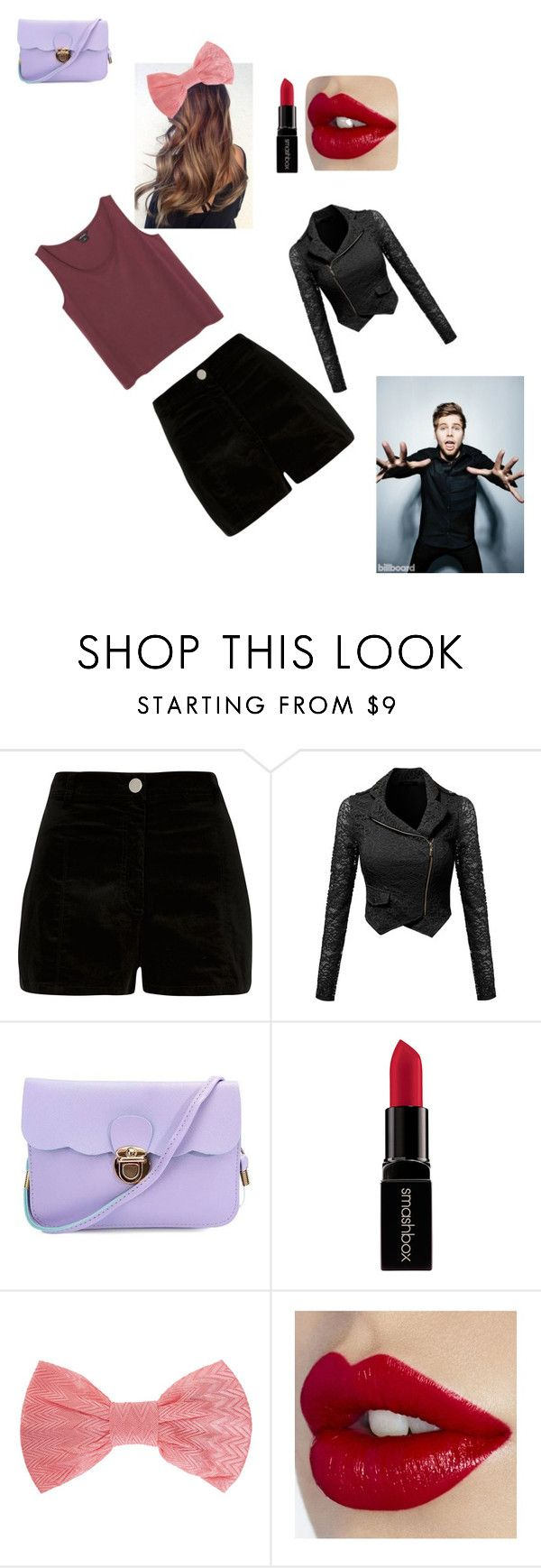 """luke hemmings girl style"" by staceymif on Polyvore featuring River Island, Smashbox, Missoni, Monki, women's clothing, women, female, woman, misses and juniors"