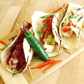 Grilled Fish Tacos, a recipe from the ATCO Blue Flame Kitchen.