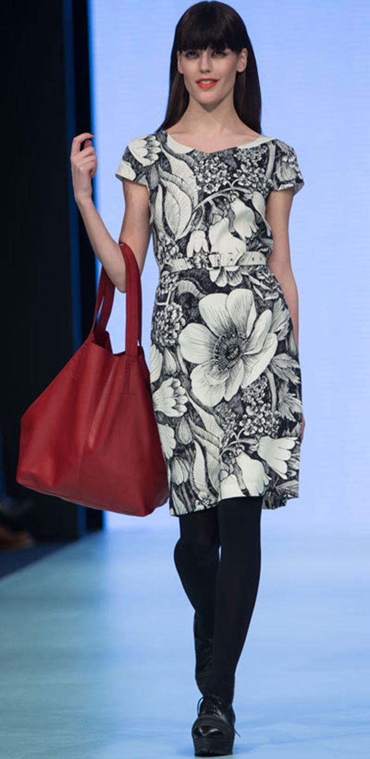 Oodi | Dress Mai Ohta | Marimekko 2013 | Pattern Design Teija Puranen | Original Image Marimekko