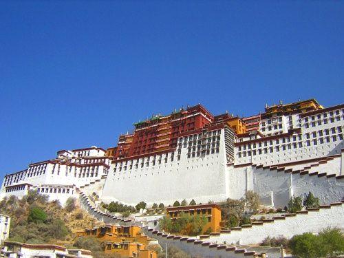 『世界遺産・チベットのポタラ宮(チベットの首都、ラサ)』