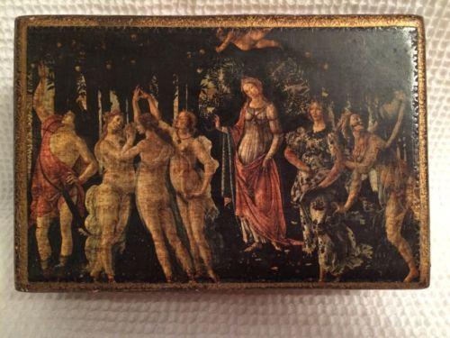 Vintage-Italian-Florentine-Wood-Gold-Trinket-Jewelry-Box