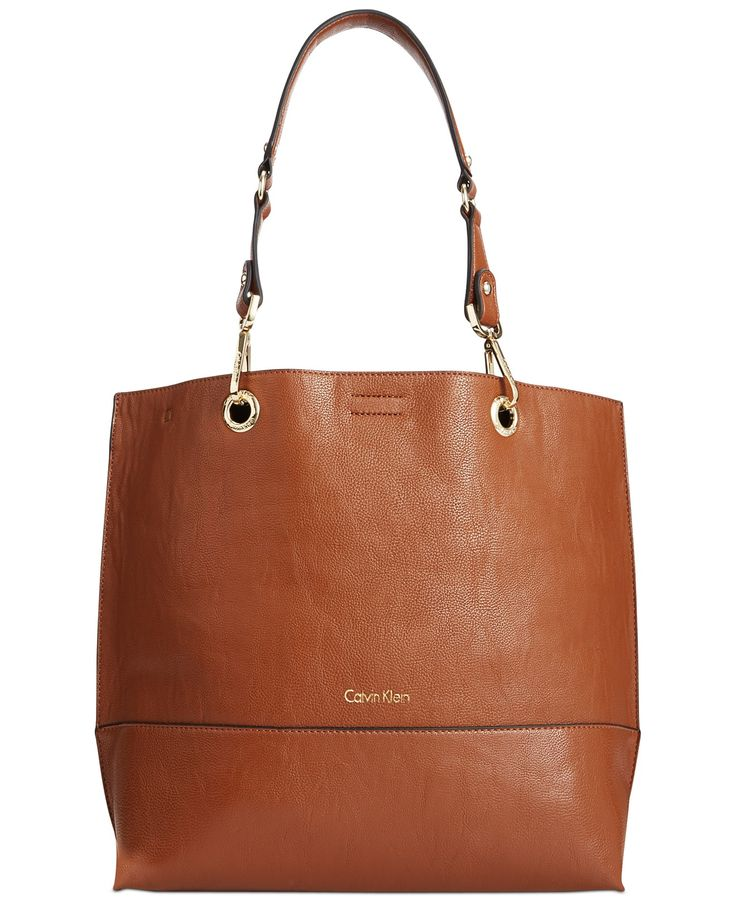 Calvin Klein Reversible Tote With Pouch - Handbags & Accessories - Macy's