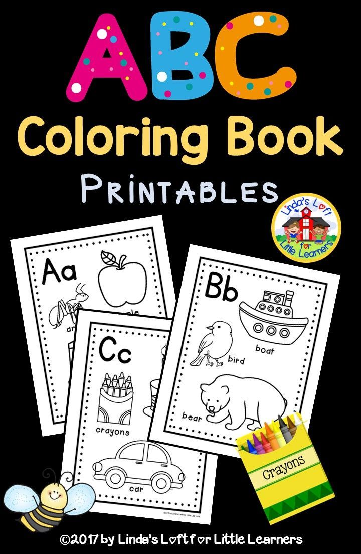 Best 25 Abc coloring pages ideas