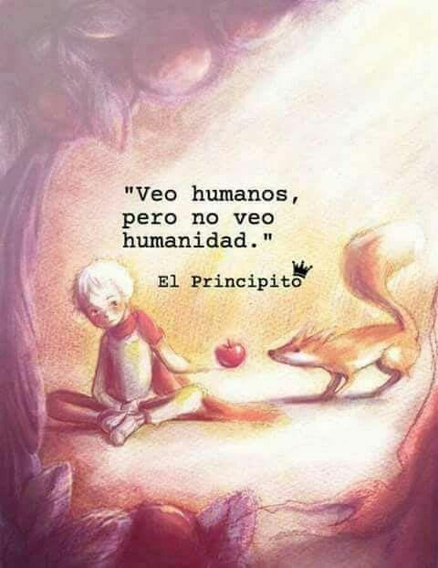 """""""Veo humanos, pero no veo humanidad."""" #reflexionesprofundas"""