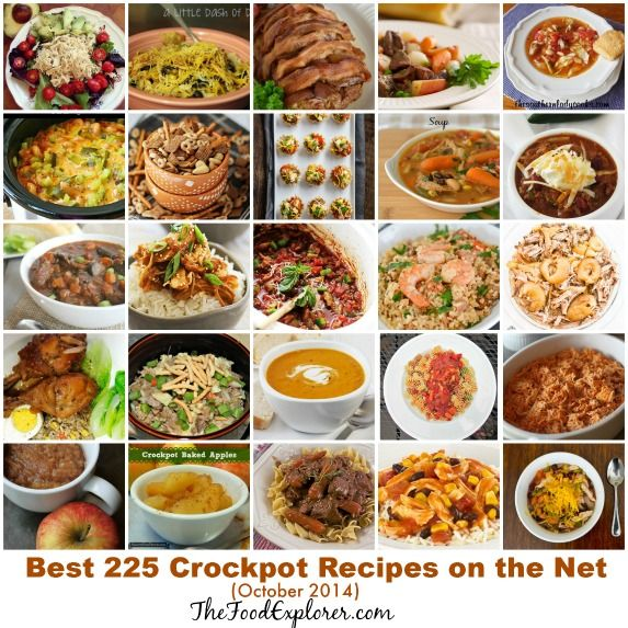 Crockpot recipes are very easy to prepare and turn into delicious dishes. We are continuing the tradition to present the best slow cooker recipes of the month, this time with the best crock pot rec...