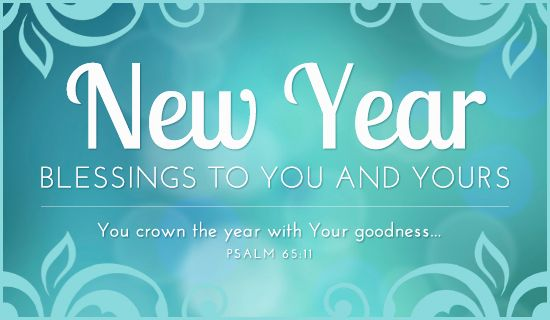 Free New Year Blessings eCard - eMail Free Personalized New Year ...