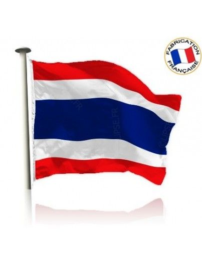 Drapeau Thaïlande Made In France by Manufêtes