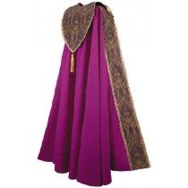 Purple Roncalli Clergy Cope