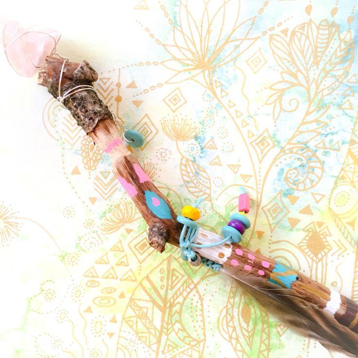 Zauberstab Aloha von Sitara Design. Spüre Deine zarten Farben