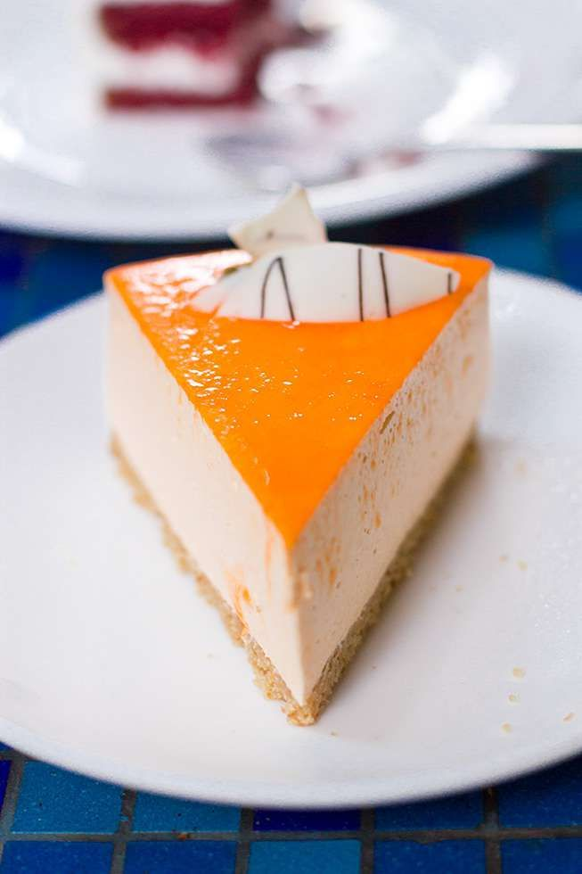 Orange Marmalade Cheese Cake | German Bakery | Pune