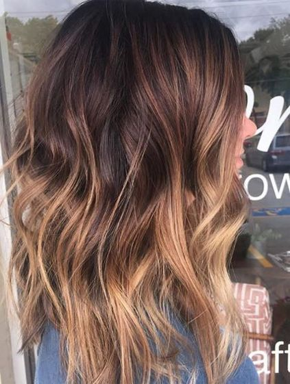 Brunette Color Melt Ideas for Hairstyles 2018 Winter-Spring