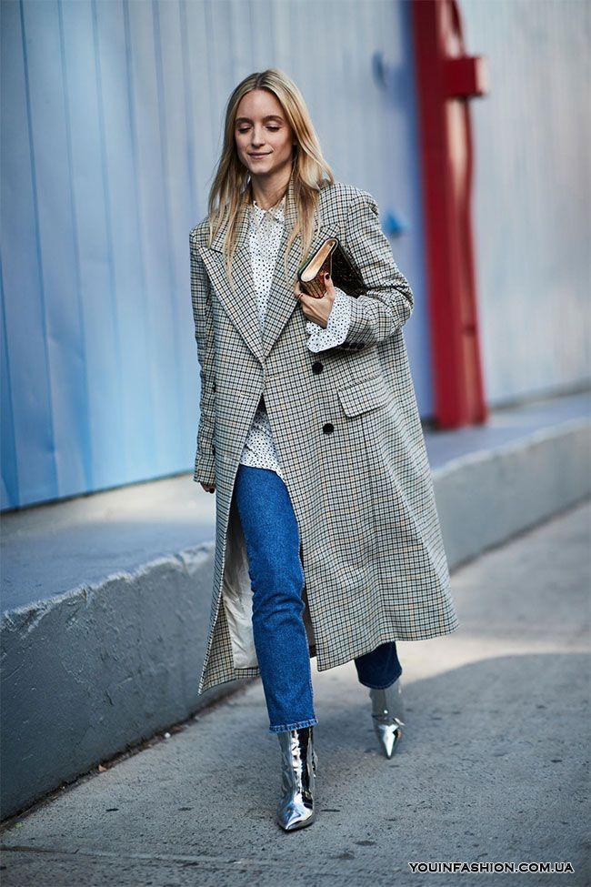 Street style на Неделе моды в Нью-Йорке осень-зима 2018-2019 ... 937d759987a