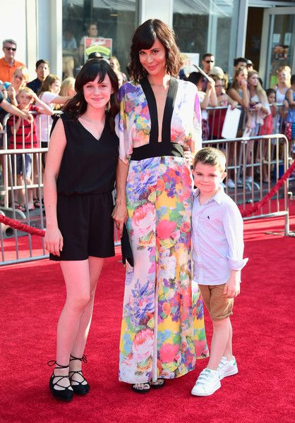 "Catherine Bell Photos - Actress Catherine Bell (C) and guests attend Disney's ""The BFG"" premiere at the El Capitan Theatre on June 21, 2016 in Hollywood, California. - Premiere Of Disney's ""The BFG"" - Arrivals"