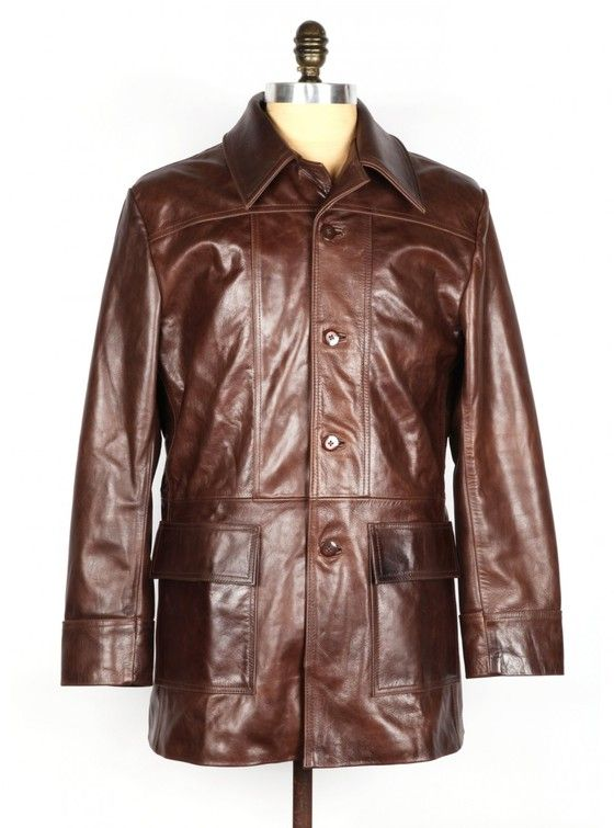 THE BRONSON – Brown Leather Jacket