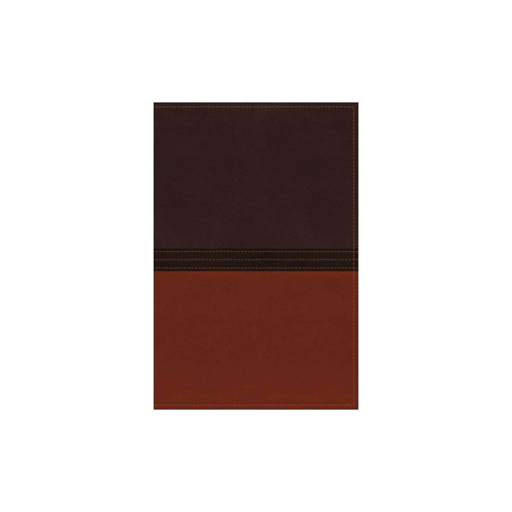 MacArthur Study Bible : New American Standard Bible, Earth Brown/Burnt Orange, Leathersoft (Paperback)
