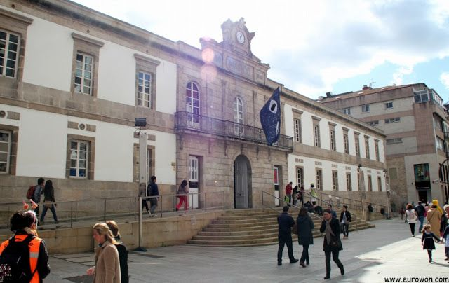 Museo de Arte Contemporáneo de Vigo.