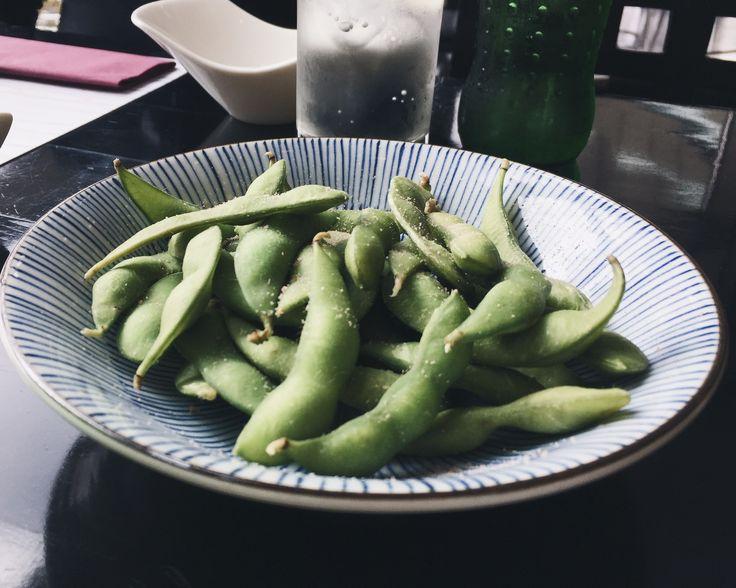 Good Food, Good Karma.   Edamame - so good for you!