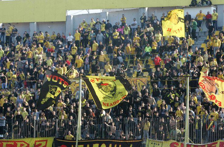 Ένας «κίτρινος στρατός» #aris #fans