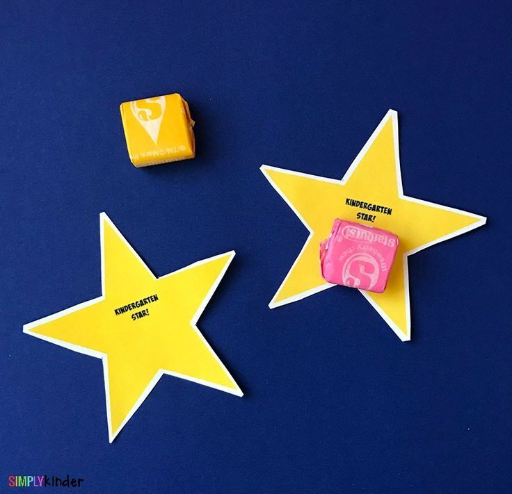 Back to School Kindergarten Star Classroom Printable - Simply Kinder