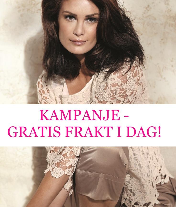 KAMPANJE ♥ GRATIS FRAKT HOS   --> http://www.kvinnemote.no/ I DAG!