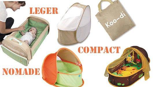Guide pour vous aider à choisir votre couffin nomade et sélection de couffin nomade : légers, compacts, pratiques, pas chers, couffin 3 en 1 multiple usage