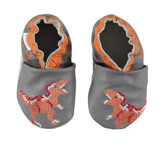 Robeez w Limango - paputki dla niemowlaka idealne do raczkowania Dinozaury.