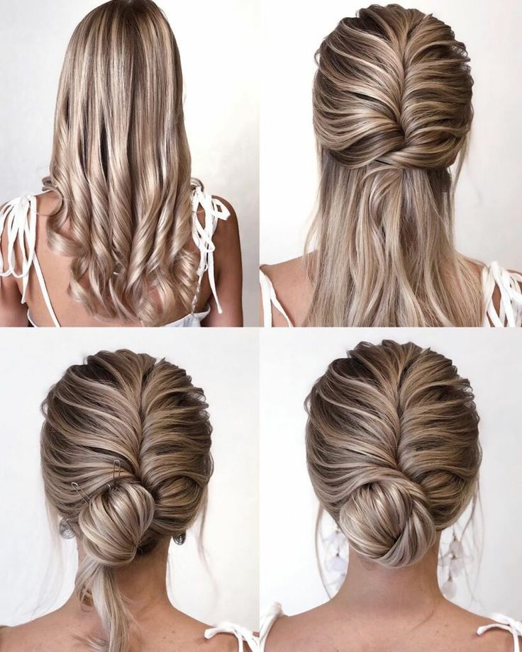 10 + Einfache Frisuren Schritt für Schritt DIY - Einfache Frisuren DIY Schulter ..., #DIY #d ...