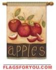 Primitive Apples House Flag - 1 left