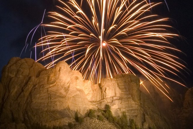 mount rushmore july 4th 2014