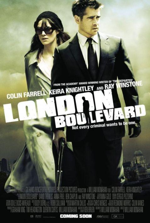 映画「ロンドン・ブルバード」では人気女優のボディガード役を演じた俳優コリン・ファレル。