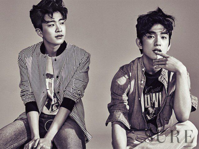GOT7's Youngjae and Junior are twinzies for 'Sure' | allkpop.com