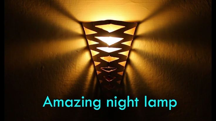 How to make a Amazing night lamp | How to make a night lamp |  Best Ideas of Lamps & Candles