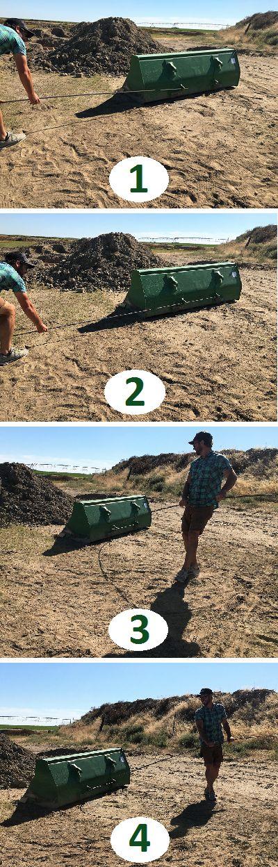 How to bend rebar. Ha, brilliant!