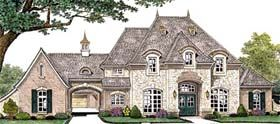 French Country House Plan 66235 Elevation