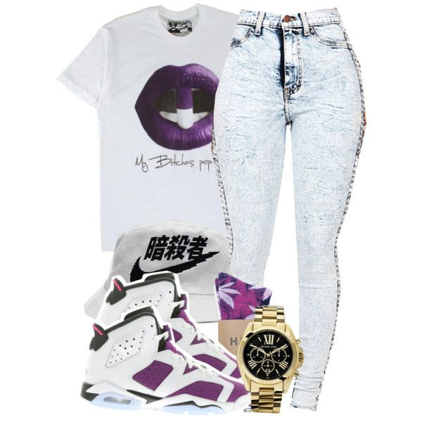 A fashion look from October 2014 featuring NIKE athletic shoes and Michael Kors watches. Browse and shop related looks.