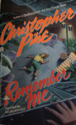 I used to read these all the time: Remember, Reading, Pike Books, Blast, Christopher Pike, Books Worth, Childhood, Favorite Books, Throwback